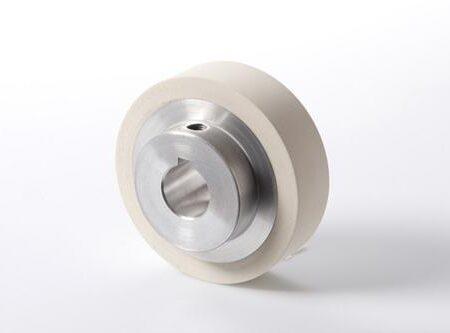 SCM rubber doorvoerwiel