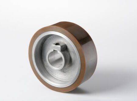 Weinig rubber doorvoerwiel