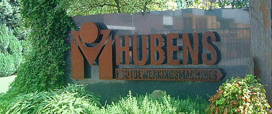 Hubens Machinehandel logo pand