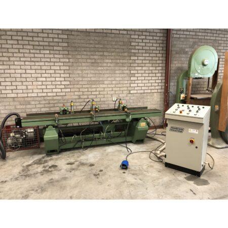 Marzani macchine gatensteekmachine met 3 koppen
